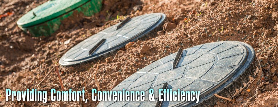 Providing Comfort, Convenience & Efficiency - sewer lines
