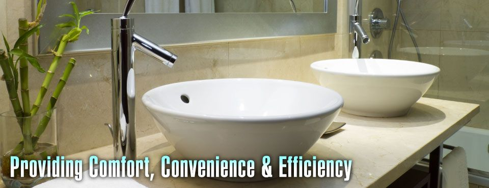 Providing Comfort, Convenience & Efficiency - renovated sink