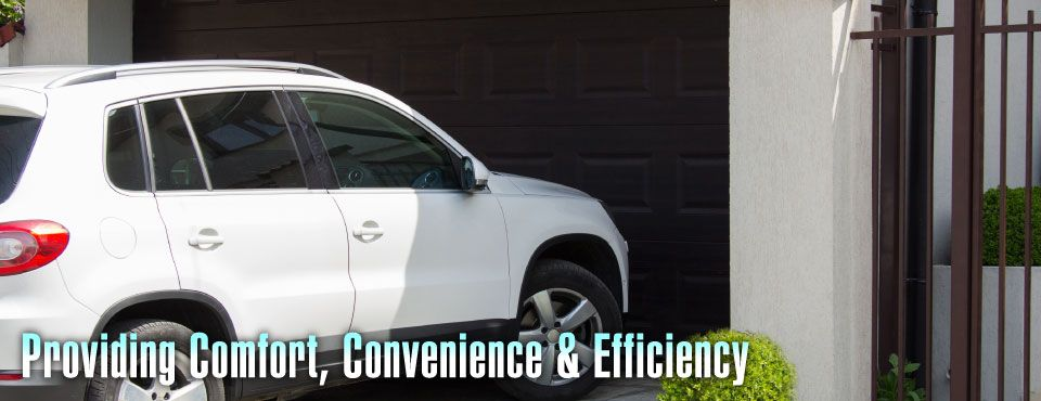 Providing Comfort, Convenience & Efficiency - car outside garage